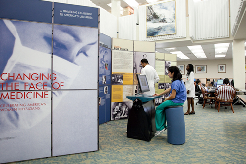 Women in Medicine exhibit
